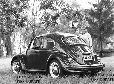 Volkswagen Beetle –  VW Bug – VW Käfer – 1962 press photo factory – photo