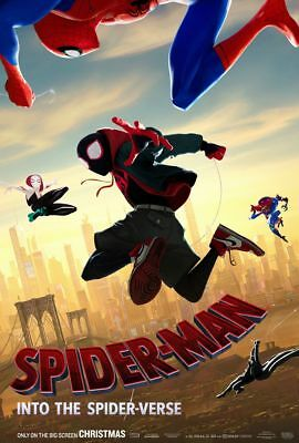 Spider-man Into The Spider-verse - original DS movie poster - 27x40 D/S B