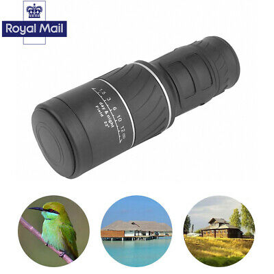 Day & Night Vision HD Optical Monocular Camping Hunting Hiking Telescope 30x52
