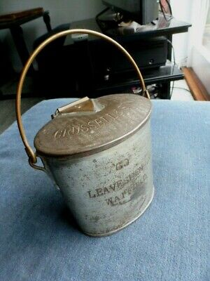 w c.1895 to 1910 MILK STANDARD CAN PAIL made by DAIRY SUNDRIES LEYTON LONDON