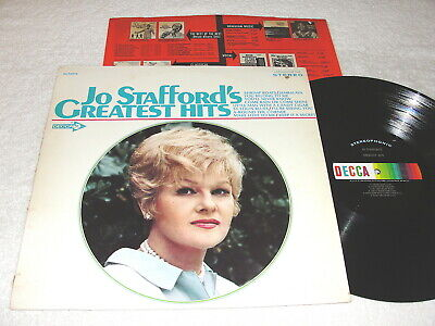 "Jo Stafford ""Greatest Hits"" 1977 Jazz LP, Nice VG++!, Stereo, Decca #DL-74973"