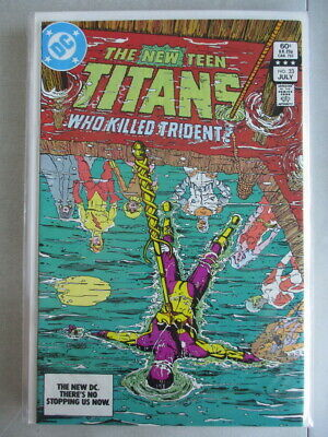 New Teen Titans (1980-1984) #33 NM