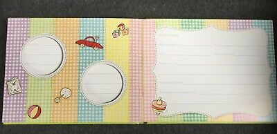 Baby's First Years Memory Book Photos Padded Hardback New Baby Gift