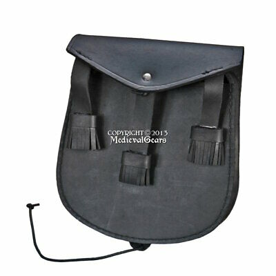 Medieval Genuine Leather Indian Style Pouch