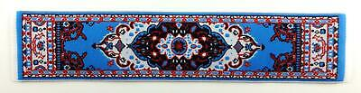 Dolls House Small Turkish Woven Carpet Runner Miniature Rug 1:12 Scale 43
