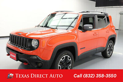 2015 Jeep Renegade Trailhawk Texas Direct Auto 2015 Trailhawk Used 2.4L I4 16V Automatic 4WD SUV Premium