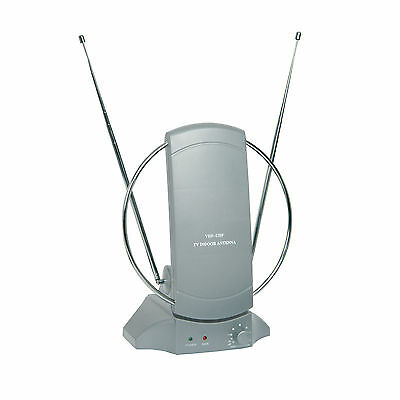 Intérieur Antenne Tv -dvb Digital Freeview Hd- Amplificateur 36db