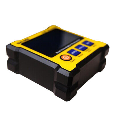 DXL360 Digital Protractor Inclinometer, Level Box, Dual Axis LCD Angle Meter