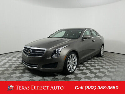 2014 Cadillac ATS Luxury RWD Texas Direct Auto 2014 Luxury RWD Used Turbo 2L I4 16V Automatic RWD Sedan Bose