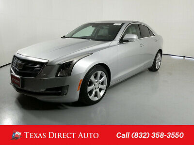 2015 Cadillac ATS Performance RWD Texas Direct Auto 2015 Performance RWD Used Turbo 2L I4 16V Automatic RWD Sedan