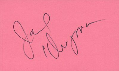 Autographs-original John Forsythe Actor 1975 $10000 Pyramid Tv Movie Autographed Signed Index Card Cards & Papers