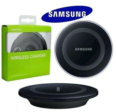 Samsung type Wireless Charger Charging Station for Galaxy S6 S7 Edge S8 S9 QI