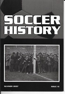 Soccer History Summer 2007 Issue 16 Opening First Wembley Hamilton Lincoln City