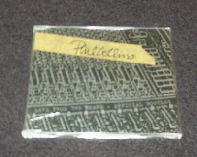 Phil Collins - Live From The Board Official Bootleg, 4 Track Cd Single