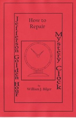 Jefferson Golden Hour Mystery Clock - How to Repair CD - Book -