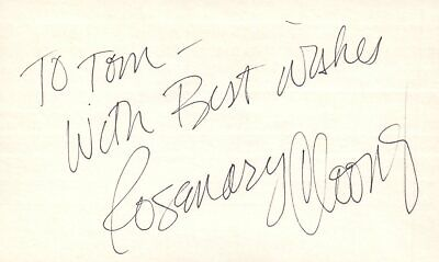 Movies Autographs-original Jane Withers Actress Singer Tv Movie Autographed Signed Index Card