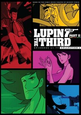 LUPIN THE THIRD 3RD PART II COLLECTION 2 New Sealed 6 DVD Set Episodes 41 to 79