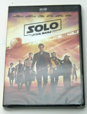 Solo: A Star Wars Story (New DVD) Disney - Woody Harrelson, Donald Glover