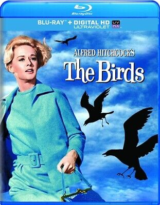 THE BIRDS New Sealed Blu-ray Alfred Hitchcock