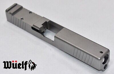 Glock 17 Radius Slide with RMR Front and Rear Serrations by Wüelf