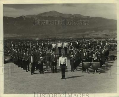 1968 Press Photo Members of the Norad Band, Cavalcade of Music. - sap33172