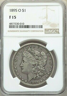 1895-O Morgan Dollar $1 F15 NGC ... 11th Lowest Morgan Dollar Mintage