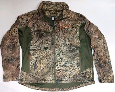 5ed9f1f66c9ba Scent-Lok Full Zip Savanna EXT Jacket ScentLok Mossy Oak Brush Pattern Size  2XL