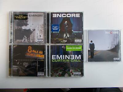 5x EMINEM - CD Sammlung - Recovery + Curtain Call ... /4