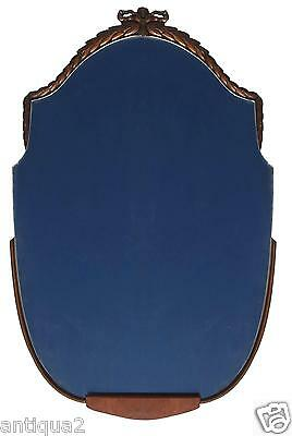 """38"""" French Louis ~ Maison Jansen Style Hollyood Regency Carved Mirror Burl Wlnt"""