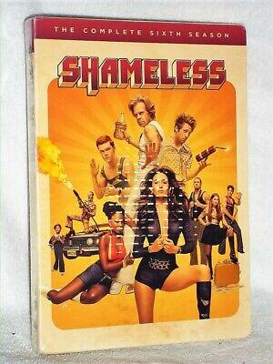 Shameless: The Complete Sixth Season (DVD, 2016, 3-Disc Set) Emmy Rossum NEW