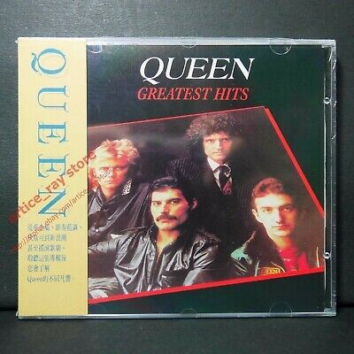 Queen Greatest Hits Taiwan CD w/OBI 1991 Best We Will Rock You-Champions NEW