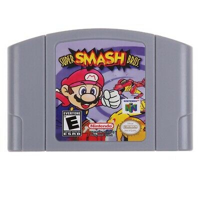 Super Smash Bros Game Card Cartridge Console For Nintendo 64 N64 US Version