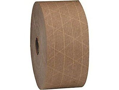 250 Yards - 2 Rolls - Reinforced TAN KRAFT SEALING TAPE
