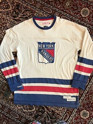 New York Rangers NHL Mitchell And Ness Jersey XL