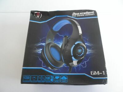 Beexcellent GM-1, Over-Ear Pro Gaming Headset Rot !!! Neu ab 1 Euro!!!