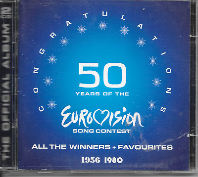 V/A - 50 YEARS OF EUROVISION SONG CONTEST (2 x CD) 51TR Abba Teach-In 2005