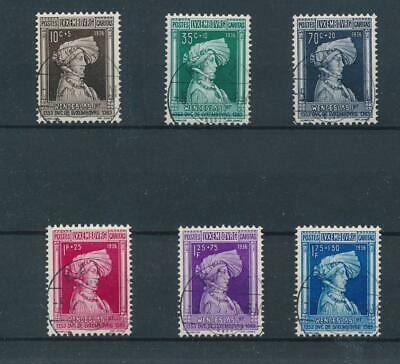 [36500] Luxembourg 1936 Good set Very Fine used stamps