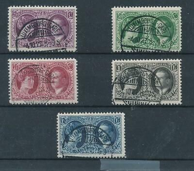 [36517] Luxembourg 1927 Good set Very Fine used stamps