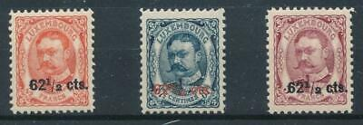 [36520] Luxembourg 1906/15 Good set Very Fine MNH stamps
