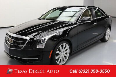 2016 Cadillac ATS Luxury Collection RWD Texas Direct Auto 2016 Luxury Collection RWD Used 2.5L I4 16V Automatic RWD