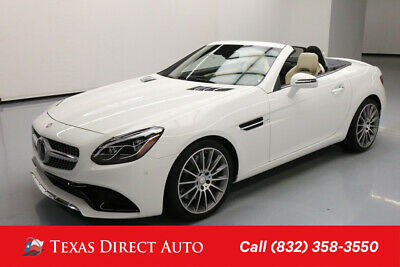 2017 Mercedes-Benz SLC 300 SLC 300 Texas Direct Auto 2017 SLC 300 Used Turbo 2L I4 16V Automatic RWD Convertible