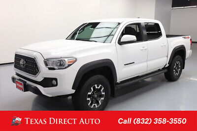 2018 Toyota Tacoma 4x4 TRD Off-Road 4dr Double Cab 5.0 ft SB 6A Texas Direct Auto 2018 4x4 TRD Off-Road 4dr Double Cab 5.0 ft SB 6A Used 3.5L V6