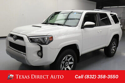 2018 Toyota 4Runner 4x4 TRD Off-Road 4dr SUV Texas Direct Auto 2018 4x4 TRD Off-Road 4dr SUV Used 4L V6 24V Automatic 4WD SUV