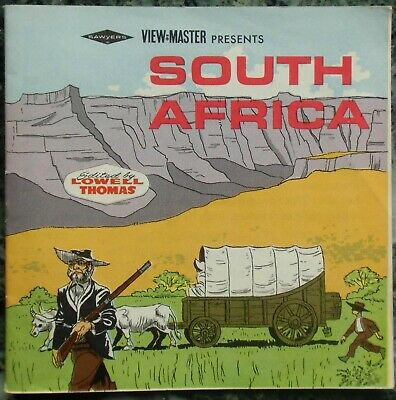 3 View-Master 3D Bildscheiben - Nations Of The World | South Africa + Booklet