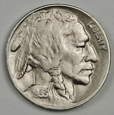 1935-d Buffalo Nickel.  A.U.  134325