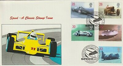 Stamps 1998 Speed Snetterton Heyden First Day Cover Postal History