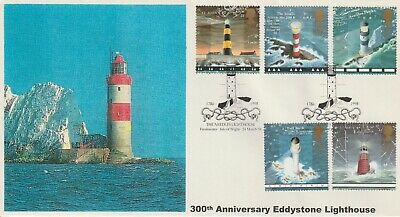 Stamps 1998 Lighthouses Needles Heyden First Day Cover Postal History