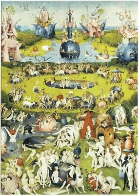 The Garden of Earthly Delights by Hieronymus Bosch Art Postcard