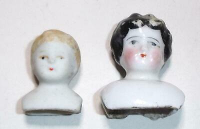 Antique / Vintage Miniature Dolls House China Head & Shoulders Blonde Boy Japan
