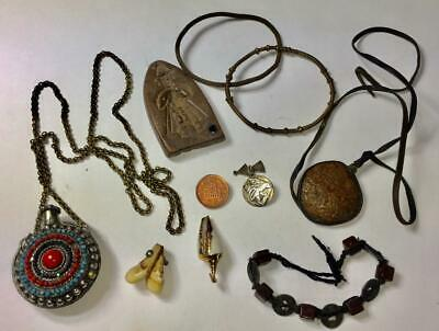 Vintage & Antique Tibetan Jewellery From An Old Estate Sale